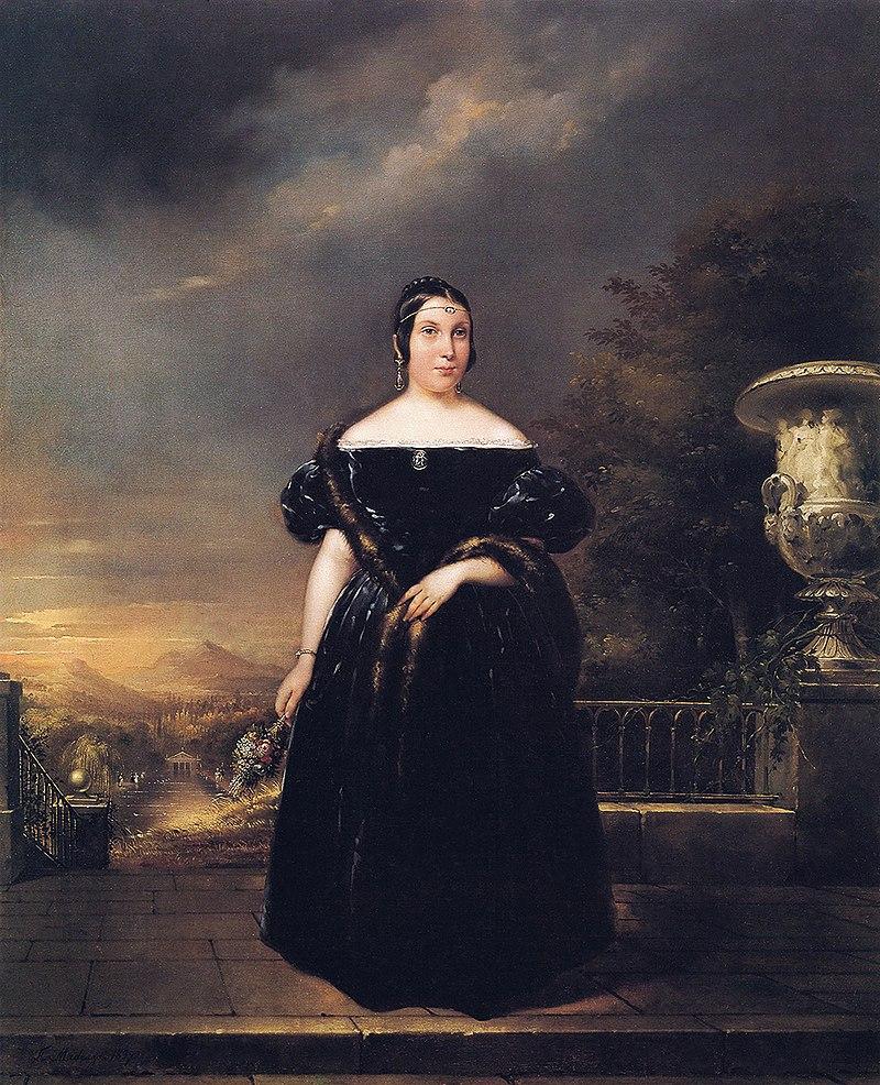 F. de Madrazo - 1837, María Teresa Roca de Togores (Colección particular, Madrid, 104 x 83 cm).jpg