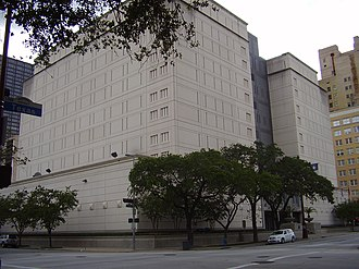 Allen Stanford - Federal Detention Center, Houston, where Stanford was held