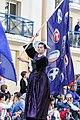 FIL 2017 - Grande Parade 03 - Drapeau des Nations celtes.jpg