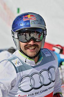Filip Flisar Slovenian freestyle skier