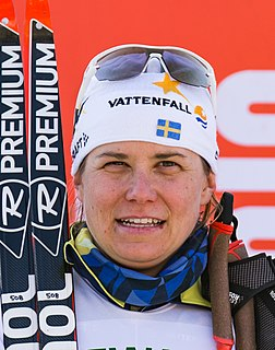 Ida Ingemarsdotter Swedish female cross-country skier