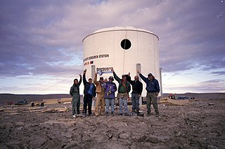 Flashline Mars Arctic Research Station Place in Nunavut, Canada