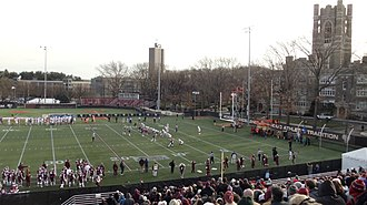 Fordham Rams football - Fordham vs. Sacred Heart at Jack Coffey Field.  Opening Round Playoffs, 2013.