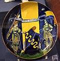 Faenza, coppa con stemma pasolini dall'onda, 1500-10 ca..JPG