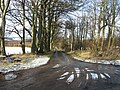 Farm road leading off the B6456 - geograph.org.uk - 1131995.jpg