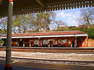 Farnborough (Main) railway station - Farnborough Main Station