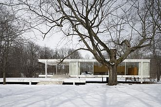 Farnsworth House - The house in 2006