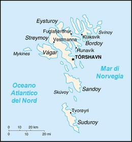 Fær Øer - Mappa