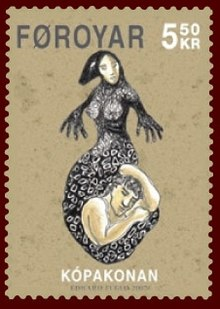 Faroese stamp 585 the seal woman.jpg