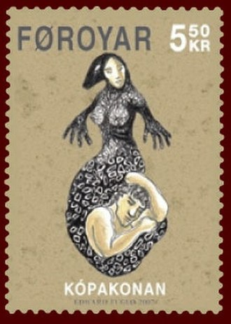 Selkie - A Faroese stamp
