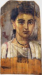 Mummy portrait of a boy