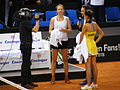 Fed Cup 2013 Germany vs Serbia - TV interview after match Barthel Ivanovic.jpg