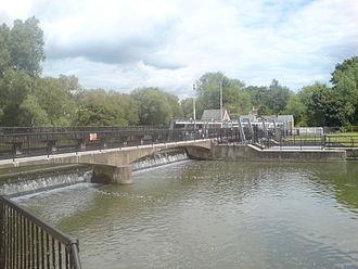 Feildes Weir - Main weir drop