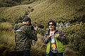 Felipe Crespo grabando en El Cajas.jpg
