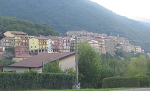 Felitto - Panoramic view from south