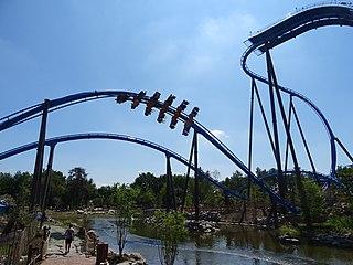 Fēnix (roller coaster) Roller coaster in Attractiepark Toverland, Netherlands