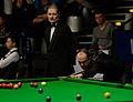 Fergal O'Brien and Jan Scheers at Snooker German Masters (DerHexer) 2015-02-04 01.jpg