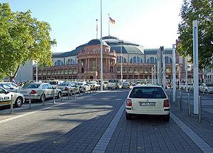 Festhalle - The Festhalle Frankfurt