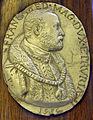 Firenze, manifattura granducale, effige di francesco I de' medici da pastorino, 1585.JPG