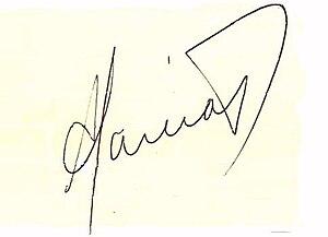 Alan García - Image: Firmaalangarcia