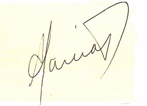 Alan García's signature