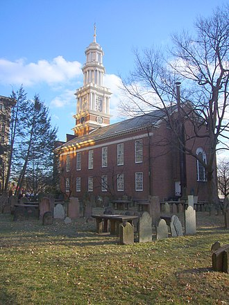 First Church of Christ and the Ancient Burying Ground - First Church of Christ