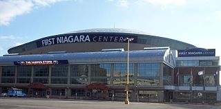 KeyBank Center multipurpose indoor arena located in downtown Buffalo, New York, USA