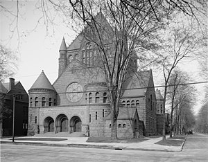First Presbyterian Church (Detroit, Michigan) - Image: First Presbyterian Church 1906 Detroit Michigan