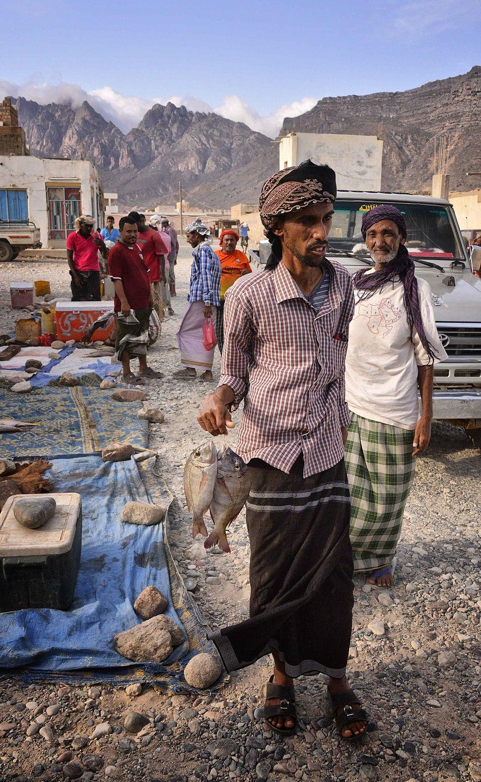 Fish Market, Socotra Island (10421587795)