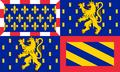 Flag of Bourgogne Franche-Comté.png