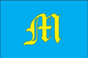 Mostyska Raion - Image: Flag of Mostyska Raion