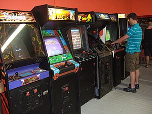 Arcade cabinet - Upright cabinets