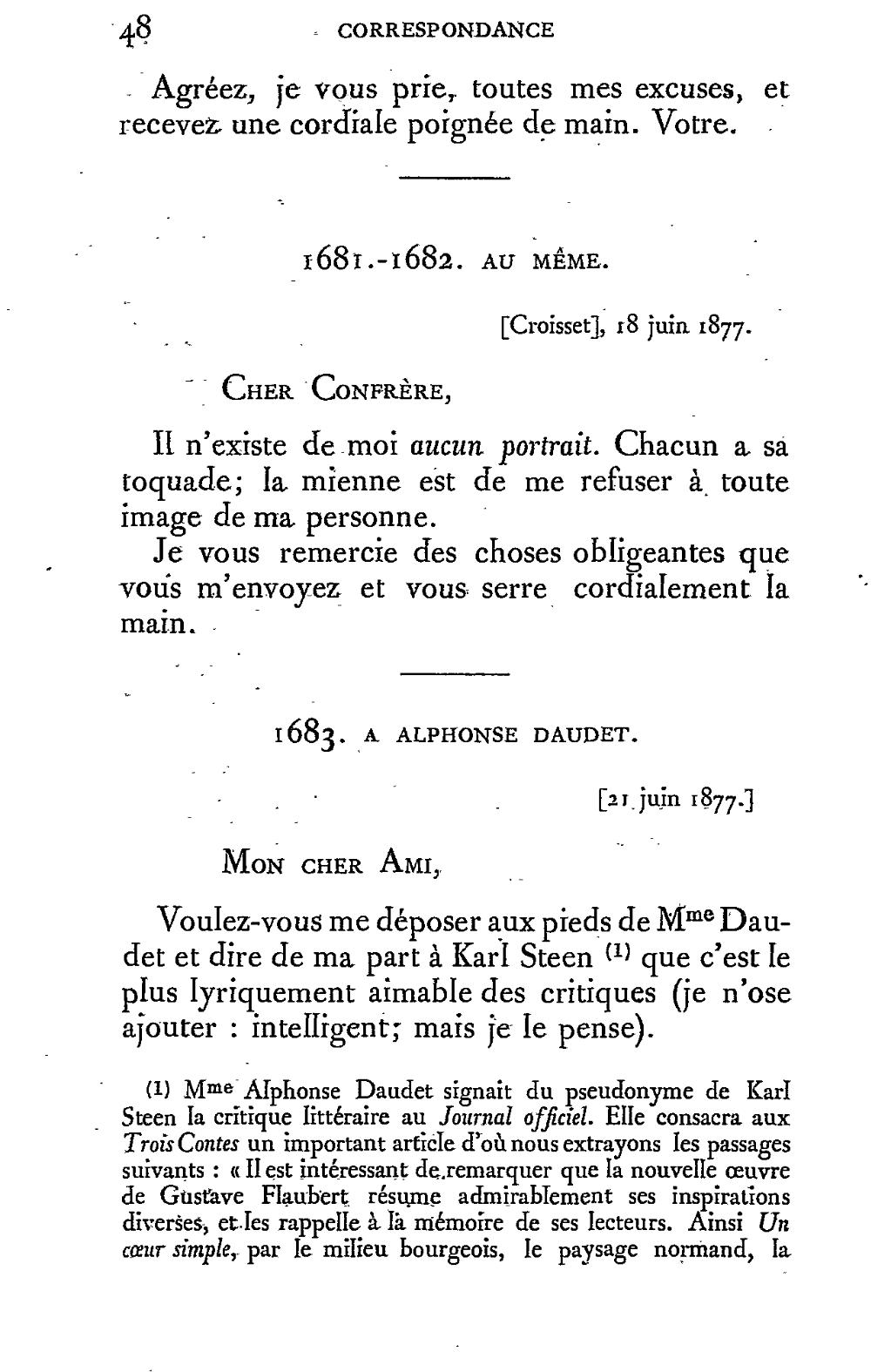 Pageflaubert édition Conard Correspondance 8djvu54