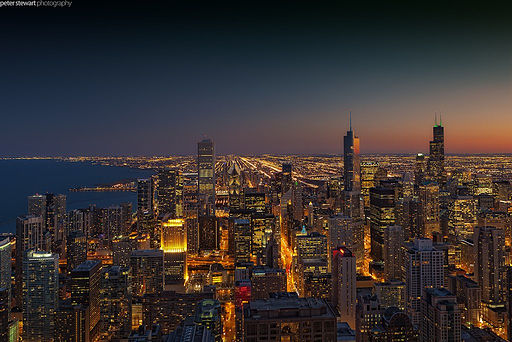Flickr - Shinrya - Chicago Skyline
