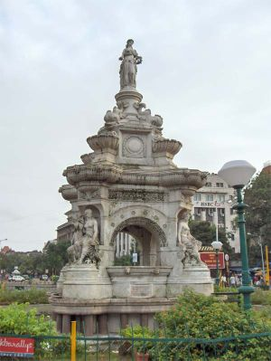 Flora Fountain - Flora Fountain named after the Roman goddess Flora