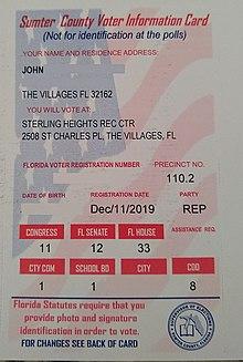 Voter Registration Wikipedia