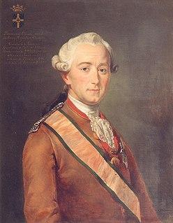 Florimond Claude, Comte de Mercy-Argenteau Austrian diplomat