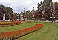 Flowerbed at end of the Mall, London, SW1 - geograph.org.uk - 681526.jpg