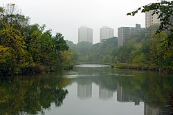 High rises along Weston Road from the Humber River