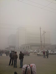 Foggy day in Noida (3248539836)