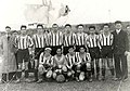 Football team in Castelldefels before the official foundation of the UE Castelldefels, 1940.jpg