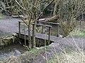 Footbridge across Evington Brook - geograph.org.uk - 1196439.jpg