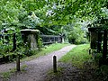 Footbridge cross the Trent and Mersey Canal at Great Haywood, Staffordshire - geograph.org.uk - 1275967.jpg