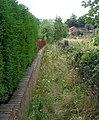 Footpath - Dunbottle Lane - geograph.org.uk - 903892.jpg