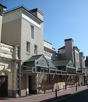 Brighton Hippodrome - The façade of the Brighton Hippodrome from the northwest