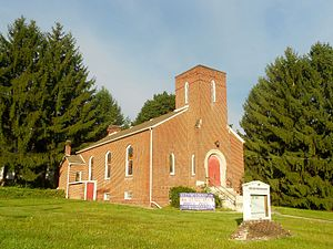 Snow Shoe, Pennsylvania - Former Presbyterian church