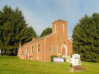 Snow Shoe, Pennsylvania - Former Presbyterian church
