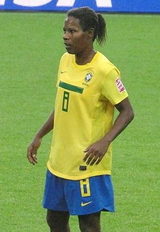 FIFA Women's World Cup - Image: Formiga (08), meio campista, DSC00910 2012 26 07