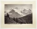 Fotografi av berg i Schweiz - Hallwylska museet - 103175.tif