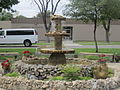 Fountain at SW TX JR. College, Uvalde IMG 1262.JPG